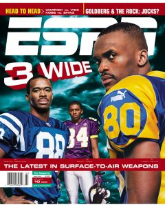 January 10, 2000 - Marvin Harrison,  Randy Moss, Isaac Bruce
