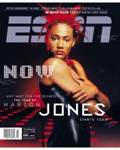 March 6, 2000 - Marion Jones