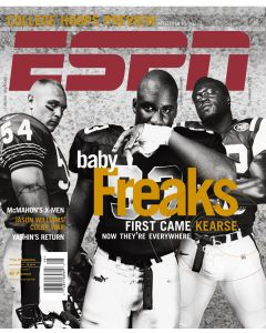 November 27, 2000 - Brian Urlacher, Shaun Ellis, Darren Howard