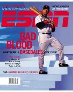 March 5, 2001 - Manny Ramirez
