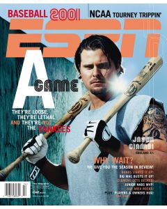 April 2, 2001 - Jason Giambi