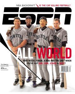 July 23, 2001 - Edgar Martinez; Mike Cameron; Ichiro Suzuki; Bret Boone
