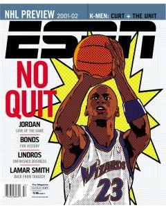 October 15, 2001 - Michael Jordan