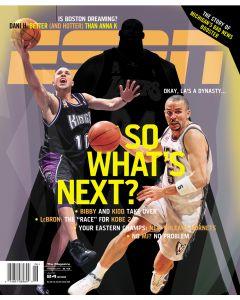 June 24, 2002 - Mike Bibby, Jason Kidd, Shaquille O'Neal