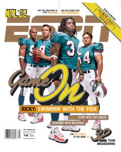 September 16, 2002 - Ricky Williams, Jay Fiedler, Jason Taylor, Zach Thomas