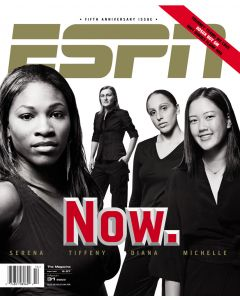 March 31, 2003 - Serena Williams, Michelle Wie, Tiffeny Milbrett, Diana Taurasi