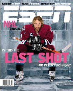 October 13, 2003 - Peter Forseberg