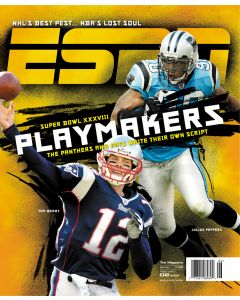 February 2, 2004 - Tom Brady, Julius Peppers