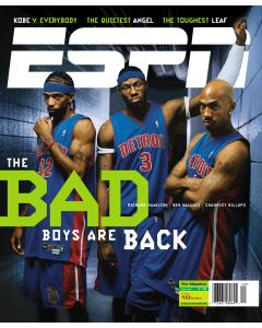 May 10, 2004 - Ben Wallace, Richard Hamilton, Chauncey Billups