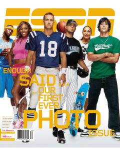 July 19, 2004 - Carmelo Anthony, Serena Williams, Peyton Manning, Josh Beckett, Diana Taurasi, Bucky Lasek