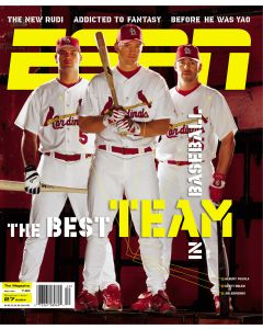 September 27, 2004 - Albert Pujols; Scott Rolen; Jim Edmonds