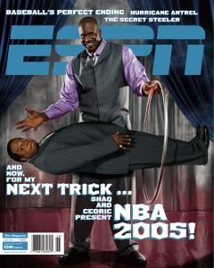 November 8, 2004 - Shaquille O'Neal; Cedric The Entertainer