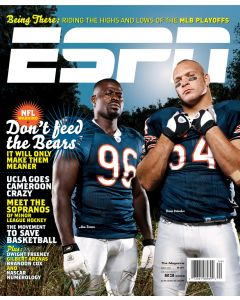 October 23, 2006 - Brian Urlacher; Alex Brown