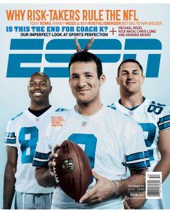 December 3, 2007 - Tony Romo; Terrell Owens; Jason Witten