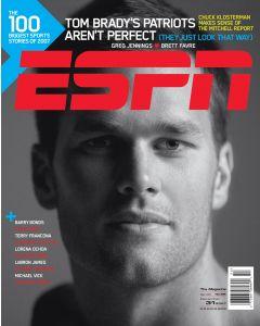 December 31, 2007 - Tom Brady