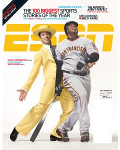 December 31, 2007 - Helio Castroneves; Barry Bonds