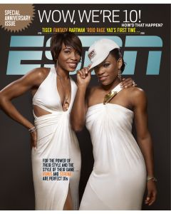 1998-2008 10th Anniversary - Venus Williams; Serena Williams