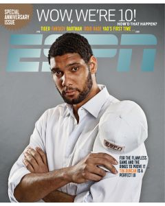 1998-2008 10th Anniversary - Tim Duncan