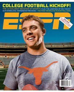 August 24, 2009 - Colt McCoy