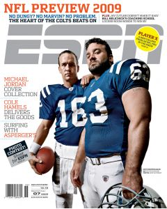September 7, 2009 - Peyton Manning, Jeff Saturday