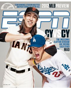 April 2, 2012 - Tim Lincecum, Clayton Kershaw