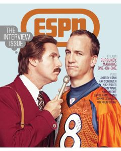 December 23, 2013 - Peyton Manning; Ron Burgundy