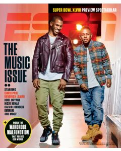 February 3, 2014 - Chris Paul, Kendrick Lamar