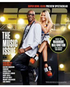 February 3, 2014 - Kobe Bryant, Nicki Minaj