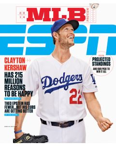 March 31, 2014 - Clayton Kershaw