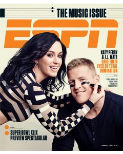 February 2, 2015 -  J.J. Watt, Katy Perry