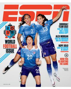 June 8, 2015 - Sydney Leroux, Abby Wambach, Alex Morgan