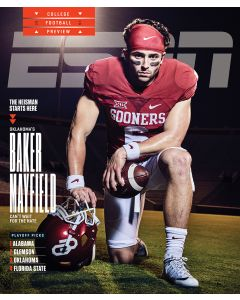 August 22, 2016, Baker Mayfield