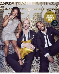 December 16, 2016, Simone Biles, David Ross, J.R. Smith