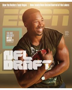 April 24, 2017, Myles Garrett