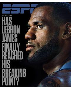 May 8, 2017, LeBron James