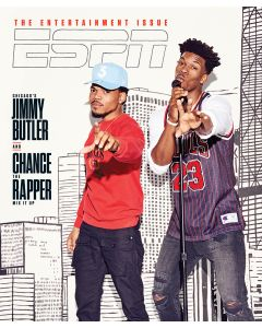 February 27, 2017, Jimmy Butler, Chance the Rapper