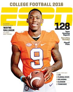 June 7, 2016, Wayne Gallman