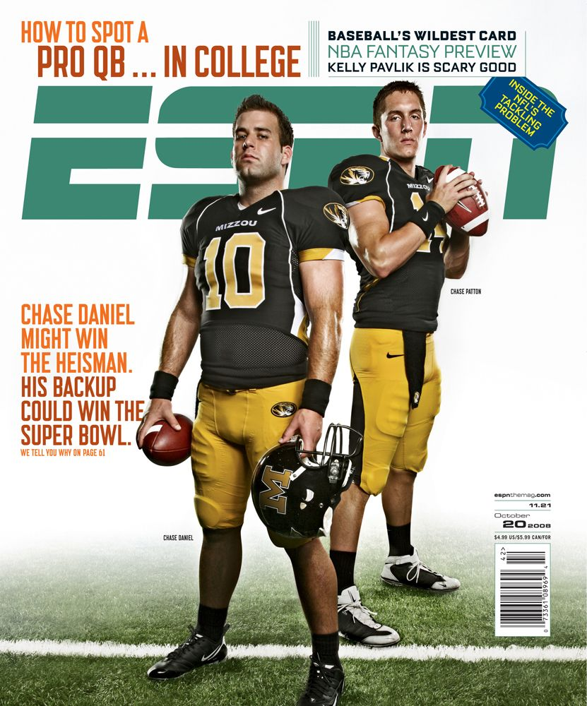 October 20, 2008 - Chase Daniel; Chase Patton